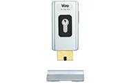 VIRO V06 – компактний замок з відкидним ригелем, який встановлюється на ворота, двері та хвіртки, що відчиняються всередину.